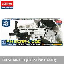ACADEMY FN SCAR- L CQC (SNOW CAMO) Airsoft BB Toy Gun 6mm Assault Rifle Foldable