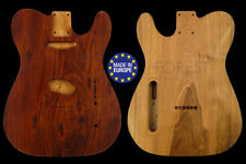 Telecaster ® Rear routed Body Electric guitar Merbau top / Spanish Walnut