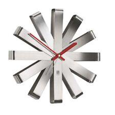 Umbra 118070-590 Ribbon - reloj de pared (30 cm) acero