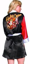DC Bombshells Harley Quinn Womens Satin Robe Bathrobe L/XL Preview Exclusive NEW