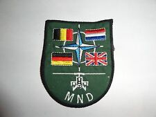 MILITARY PATCH NATO MULTINATIONAL DIVISION CENTRAL 1994-2002 OLDER MND RARE FIND