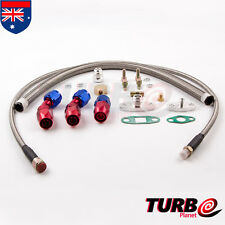 T3 T4 T61 T70 T66 TO4E Turbo Oil Feed Line Return Drain Kit Adaptor 10AN Fitting