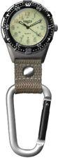 Dakota Back Packer Water-resistant Clip Watch Tan