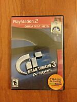 GRAN TURISMO 3 – A-SPEC – PLAYSTATION 2 (PS2) VIDEO GAME