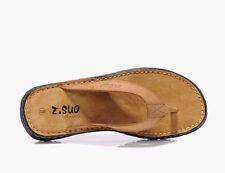 Markenlose Herren-Sandalen aus Kunstleder