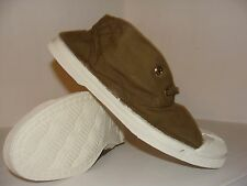 NEW In original Packaging Canvas Hi-Top Tennis  Shoes. Color Khaki