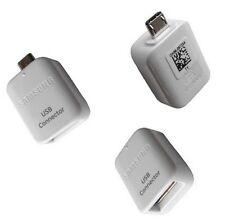 Samsung Adaptateur connecteur Micro USB OTG-USB 2.0 pour Galaxy S5 S6 S7 Edge