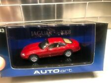 Autoart 1/43 Jaguar XK8 coupe red NOS perfect never opened rare discontinued...