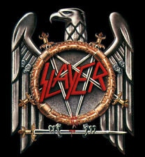 Slayer - Logo Reign In Blood Heavy Metal Sticker or Magnet