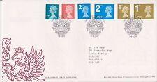 GB Royal Mail FDC Primer Día Cubierta 2006 Maquna DEFINITIVES 12p-14p & NVIS Windsor