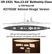 1/700 IJN No.13-16 Cancelled 1921 Battleship Resin Kit by IHP