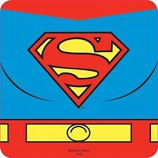 Superman Belt Graphic single drinks mat / coaster    (hb)