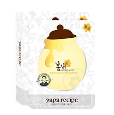 Papa Recipe Bombee Whitening Honey Mask (10 sheets), US Seller!
