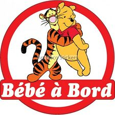 Decal Sticker child Baby to bord Winnie ref 3571 3571
