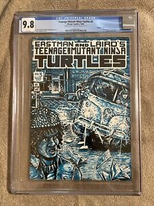 Teenage Mutant Ninja Turtles #3 CGC 9.8 Double Cover! Mirage 1985 Both Cvrs  9.8