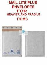 200 C0 White 150x210mm Mail Lite Plus Bubble Envelopes for Heavier Fragile Items