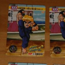 STREET FIGHTER II 2 [KO] TRADING CARDDASS CARD CARTE 48 MADE IN JAPAN 1992 **