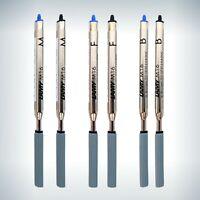 LAMY Kugelschreiber Minen M16 Großraumminen Blau Schwarz M F B