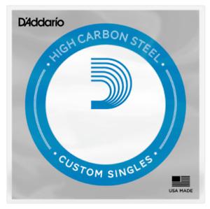 D'Addario Singles - Plain Steel Strings (Pack Of 5) Gauge: 0.10