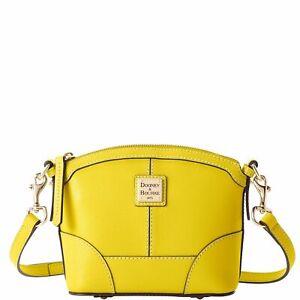 Dooney & Bourke Saffiano Mini Domed Crossbody Shoulder Bag