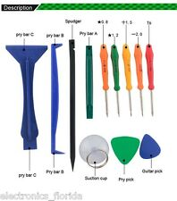 12 pcs Universal Repair Tool Kit Mobile Phone iPad Camera Repairing Tools b288
