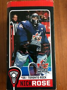 Nick Rose Bobblehead #66 TORONTO ROCK Lacrosse New In Box NLL
