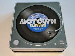 Motown Classics: Collector's Edition 3-Disc CD Set in Tin Case Marvin Gaye ++