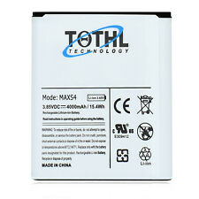 TQTHL 4000mAh Extended Slim Battery for Samsung Galaxy S4 i9500, SCH-i545, R970