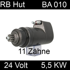 Anlasser für Büssing Deutz Motor Kälble Fahr M1620 vergl.0001410019 24 V 5,5KW