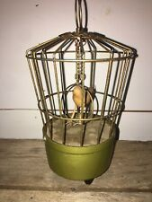 "6"" Vintage 1940s Saezuri Singing Bird Cage Not Tested"