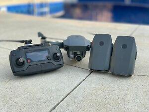 DJI Mavic Pro Drone with 4K HD Camera, 3 EXTRA Batteries, and Multi Charging Hub