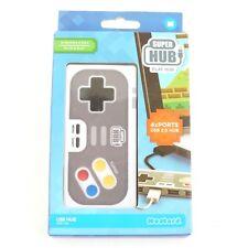 Super Hub PlayHub 4 Port USB 2.0 Retro Game Controller Windows&Mac Plug&Play