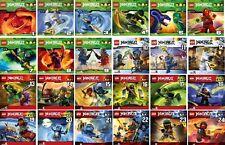 24 CDs * LEGO NINJAGO : MEISTER DES SPINJITZU - HÖRSPIEL 1-24 IM SET# NEU OVP §