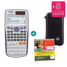 Casio fx 991 es plus calculadora + funda protectora de aprendizaje CD de garantía