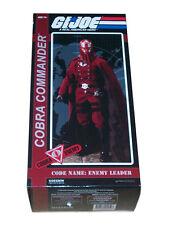 Sideshow Collectibles G.I. Joe  Crimson Cobra Commander Figure