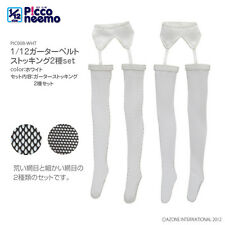Azone 1/12 Picconeemo GarterBelt Medias Conjunto Blanco 1/12 14cm Fashion Doll