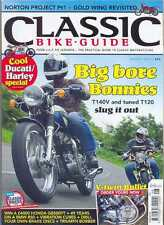 CLASSIC BIKE GUIDE- AUGUST 2012-(NEW COPY)