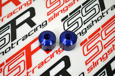 Blue Ducati Crash Handlebar Bar End Ends Monster 696