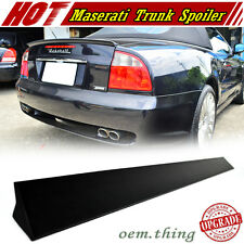 01-07 Fit FOR Maserati Coupé Spyder GT 2D V Rear Trunk Spoiler Wing Unpainted