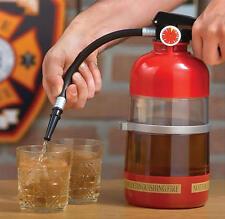 Mini Fire Extinguisher Shape Cocktail Shaker Liquor Pump Wine Beer Dispenser