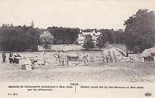 """"""" 1914 - Materiel de Boulangerie abandonné à Betz ( oise ) par les Allemands """""""