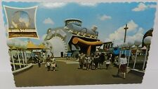 CHRYSLER 1964 65 HEMI WORLDS FAIR ENGINE NY PLYMOUTH PROMO MOPAR POSTCARD