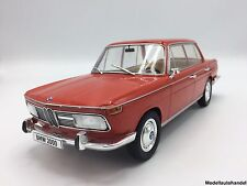 Bmw 2000 ti (tipo 120) 1966 rojo 1:18 microg
