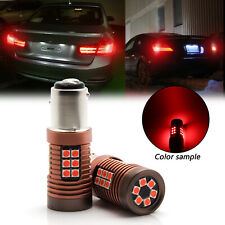 2x Super Red 7528 2057 1157-SCK CK 30-SMD LED Bulbs Rear Brake Tail Stop Light