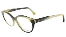 f645c7f3c6 Authentic BALENCIAGA 5001 - 064 Eyeglasses Yellow Black Horn  NEW  51mm