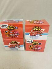 Super Wings Pop n' Transform  figures Blind Bag Bundle of 4 new sealed