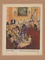 1917, Zeichnung von Walter Trier Die blanke Tafel. WWI