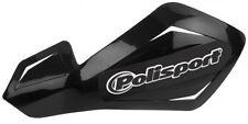 Polisport Honda Motocross Enduro Protectores Con Kit De Montaje Universal-negro