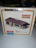 BACHMANN PLASTICVILLE HO SCALE RANCH HOUSE 2618-100 SEALED IN BOX