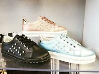 WOMENS LADIES LACE UP SNEAKERS CASUAL PLIMSOLLS TRAINERS SIZES 3-8